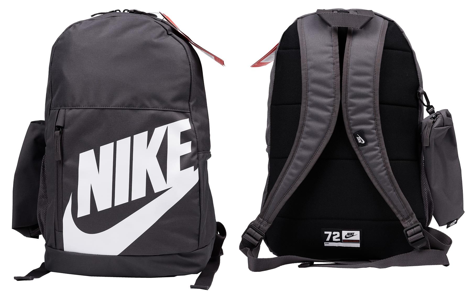 Details zu Rucksack Nike Elemental Nike Y Nk Elmntl Bkpk Fa19 Schulrucksack grau